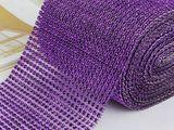Полотно под стразы цв. фиолетовый (0,5 м.)