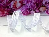 Лента декоративная цв. белый 22 мм.