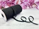 Резинка цв. черный 7 мм. ( 1м.)