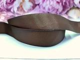 Репсовая лента цв. коричневый 40 мм.