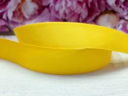 Репсовая лента цв. желтый 40 мм.