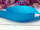 Репсовая лента цв. ярко-голубой 40 мм.