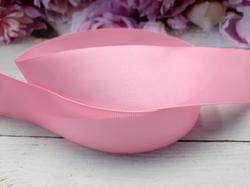 Репсовая лента цв. нежно-розовый 40 мм.