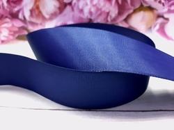 Репсовая лента цв. темно-синий 40 мм.