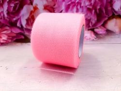 Лента из фатина цв. розово-персиковый 50 мм.