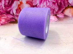 Лента из фатина цв. фиолетовый 50 мм.