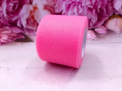Лента из фатина цв. розовый 50 мм.