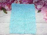 Топ-основа для платья tutu цв. тиффани 24х32 см.