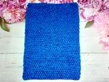 Топ-основа для платья tutu цв. синий 24х32 см.