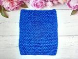 Топ - основа для платьев tutu цв. синий  23х20 см.