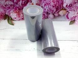 Фатин в шпульке цв. серый