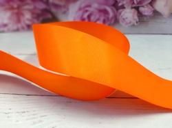 Репсовая лента цв. оранжевый 40 мм.