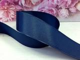 Репсовая лента цв. темно-синий (370) 40 мм.