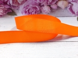 Репсовая лента цв. оранжевый 25 мм.
