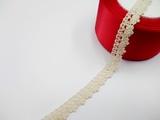 Кружево вязаное цв. льняной 15 мм.