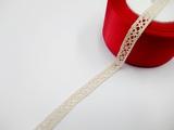 Кружево вязаное цв. льняной 10 мм.