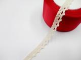 Кружево вязаное цв. льняной 11 мм