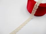 Кружево вязаное цв. льняной 10 мм