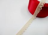 Кружево вязаное цв. льняной 15 мм