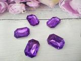 Кабошоны  Rivoli цв. фиолетовый 18х25мм