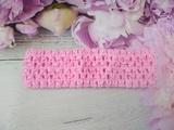 Повязка-основа цв. розовый 4х15 см.
