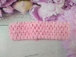 Повязка-основа цв. розово-персиковый 4х15 см.