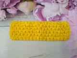 Повязка-основа цв. желтый 4х15 см.
