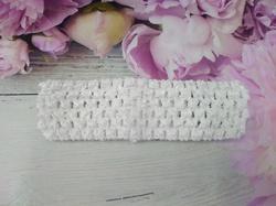 Повязка-основа цв. белый 4х15 см.