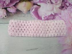 Повязка-основа цв. бледно-розовый 4х15 см.