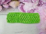Повязка-основа цв. светло-зеленый 4х15 см.
