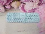 Повязка-основа цв. голубой 4х15 см.