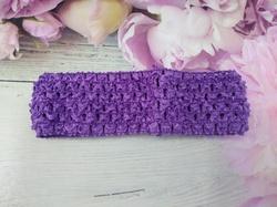 Повязка-основа цв. фиолетовый 4х15 см.