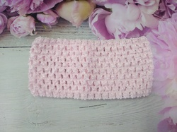 Повязка-основа цв. бледно-розовый 7х15 см.