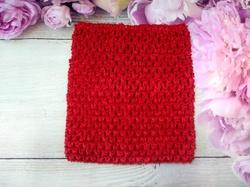 Топ - основа для платьев tutu цв. красный 15х15 см.