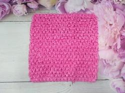 Топ - основа для платьев tutu цв. розовый 15х15 см.