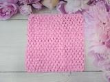 Топ - основа для платьев tutu цв. светло-розовый 15х15 см.
