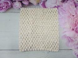 Топ - основа для платьев tutu цв. айвори 15х15 см.