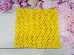 Топ - основа для платьев tutu цв. желтый 15х15 см.