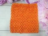 Топ - основа для платьев tutu цв. оранжевый 15х15 см.