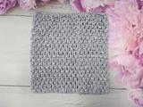 Топ - основа для платьев tutu цв. серый 15х15 см.