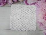 Топ - основа для платьев tutu цв. белый 15х15 см.