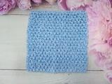 Топ - основа для платьев tutu цв. светло-синий 15х15 см.