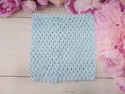 Топ - основа для платьев tutu цв. голубой 15х15 см.