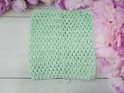 Топ - основа для платьев tutu цв. мятный 15х15 см.