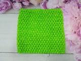 Топ - основа для платьев tutu цв. салатовый 15х15 см.