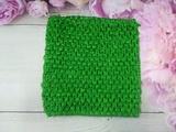 Топ - основа для платьев tutu цв. зеленый 15х15 см.