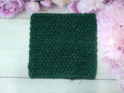 Топ - основа для платьев tutu цв. изумрудный 15х15 см.