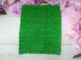 Топ - основа для платьев tutu цв. зеленый 23х20 см.