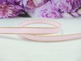 Репсовая лента с люрексом цв. розовый 9 мм.