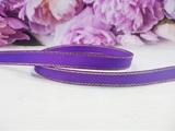 Репсовая лента с люрексом цв. фиолетовый 9 мм.